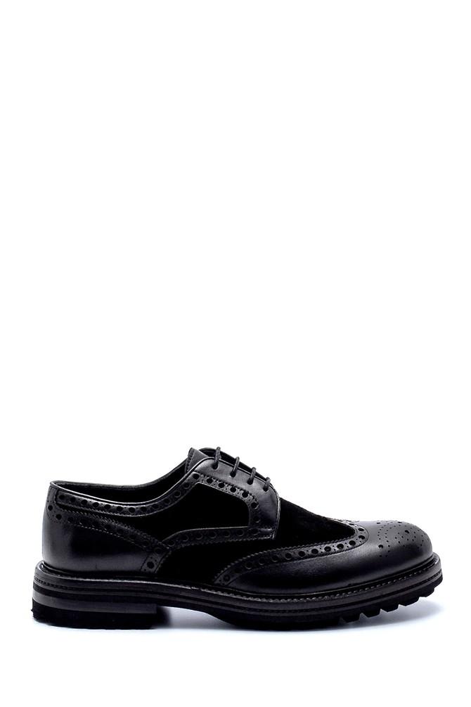 Siyah Erkek Deri Klasik Ayakkabı 5638237048