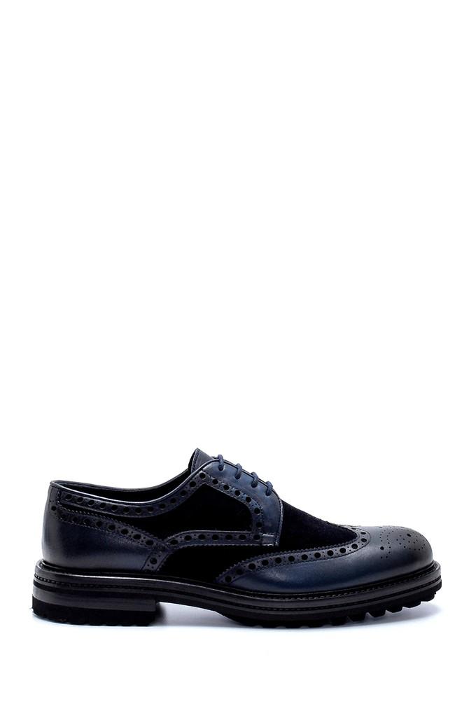 Lacivert Erkek Deri Klasik Ayakkabı 5638237030