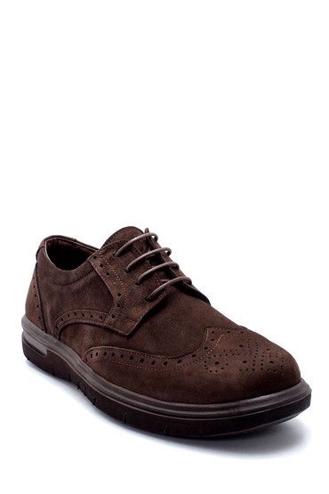 Kahverengi Erkek Nubuk Casual Ayakkabı 5638215179