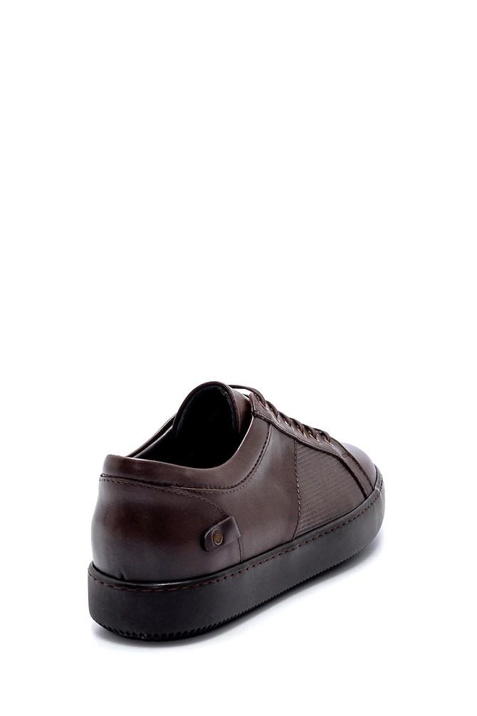 5638218619 Erkek Deri Sneaker