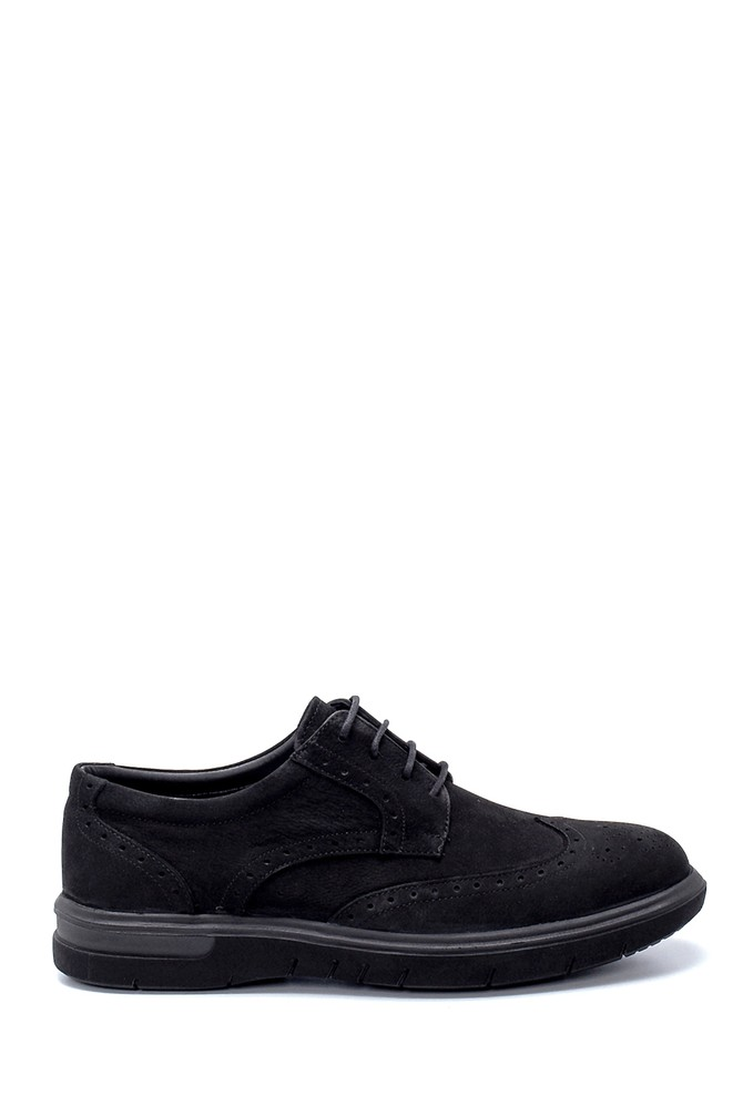 Siyah Erkek Nubuk Casual Ayakkabı 5638215181