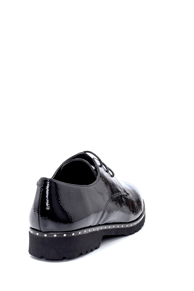 5638199502 Kadın Rugan Maskülen Ayakkabı