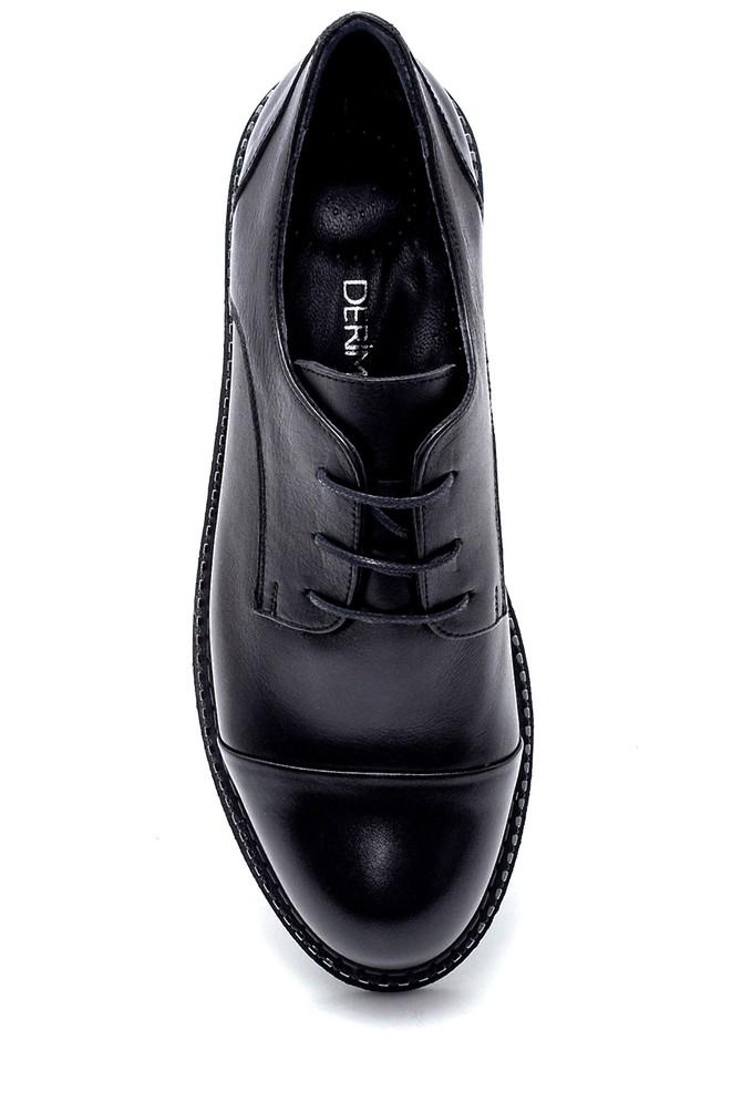 5638202661 Kadın Deri Maskülen Ayakkabı