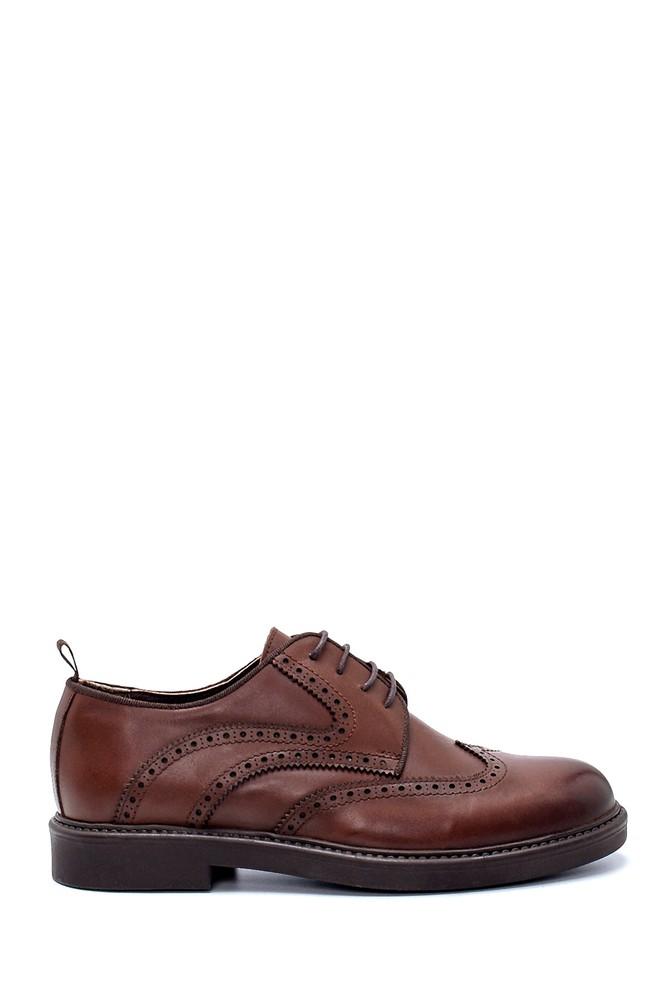 Kahverengi Erkek Deri Ayakkabı 5638207818