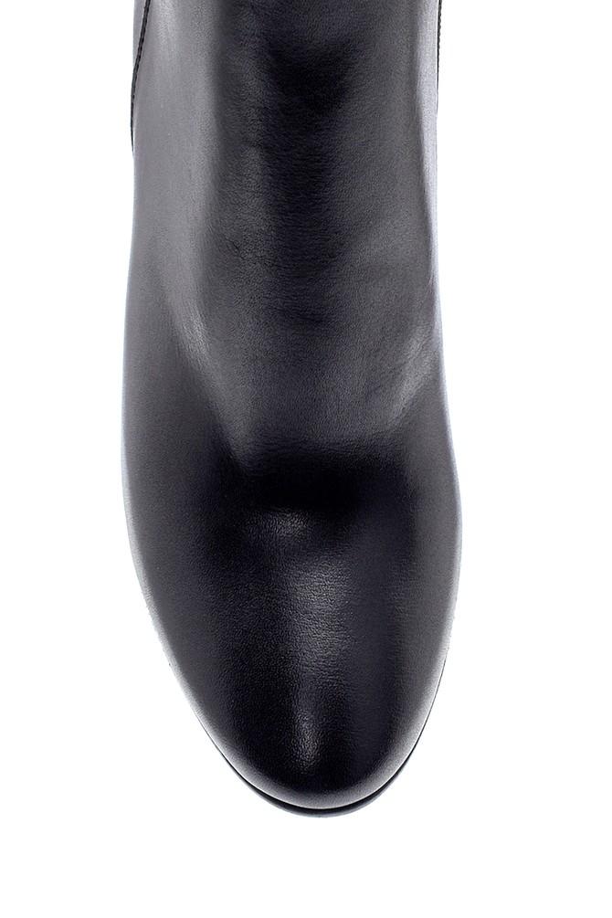 5638212988 Kadın Deri Topuklu Bot