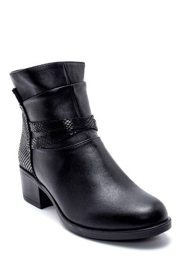 Siyah Kadın Topuklu Bot 5638184124