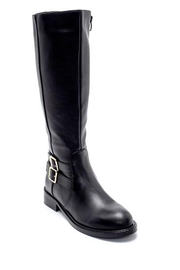 Siyah Kadın Toka Detaylı Çizme 5638199643