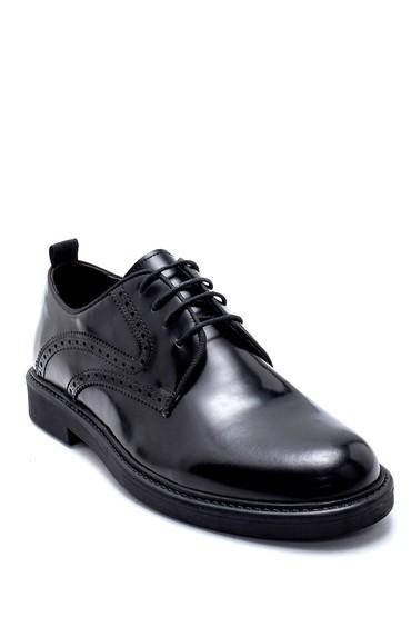 Siyah Erkek Deri Klasik Ayakkabı 5638207782
