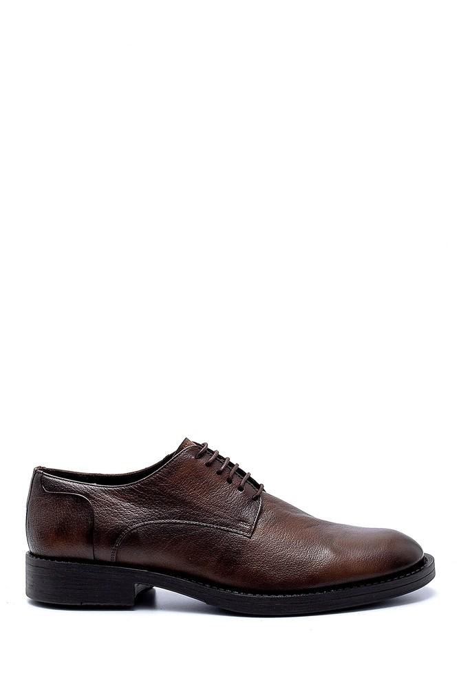 Kahverengi Erkek Deri Klasik Ayakkabı 5638208048