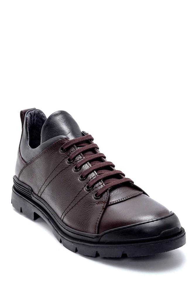 5638230636 Erkek Deri Sneaker
