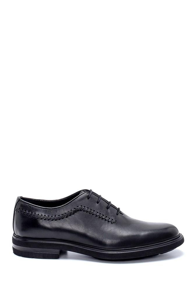 Siyah Erkek Deri Klasik Ayakkabı 5638234445