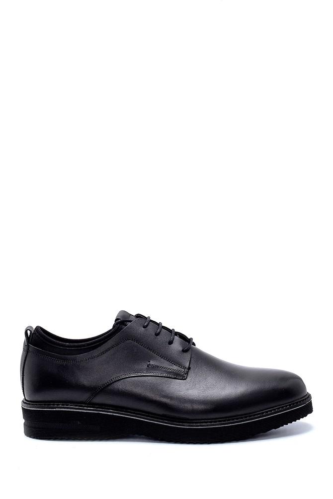 Siyah Erkek Deri Klasik Ayakkabı 5638257999