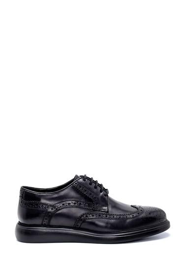 Siyah Erkek Deri Klasik Ayakkabı 5638212340