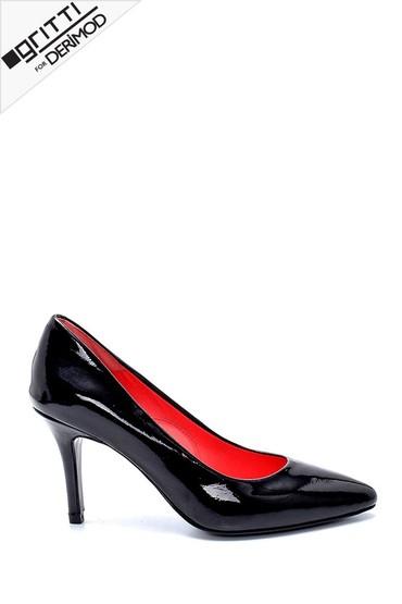 Siyah Kadın Gritti for Derimod Topuklu Ayakkabı 5638218057