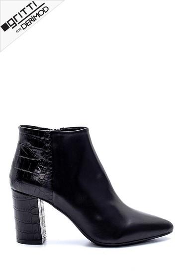 Siyah Kadın Gritti for Derimod Topuklu Bot 5638218077