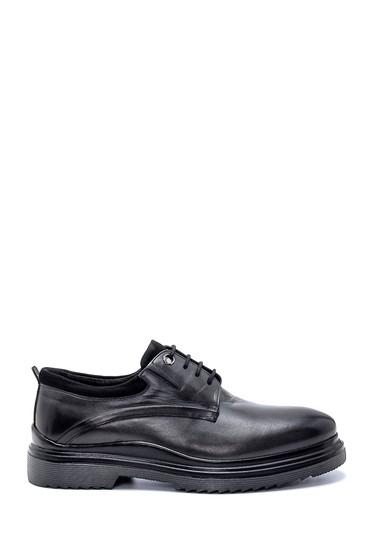 Gri Erkek Deri Casual Ayakkabı 5638237005