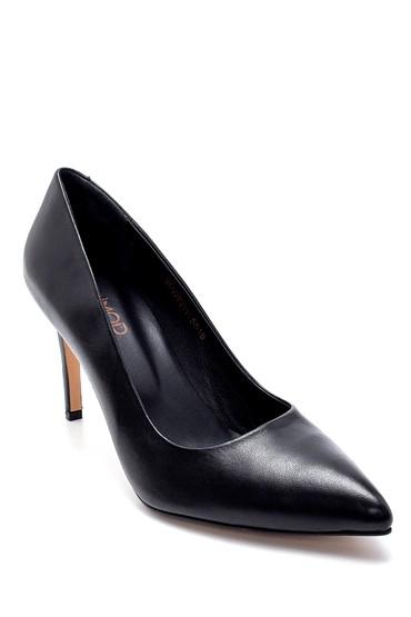 Siyah Kadın Deri Stiletto 5638237163