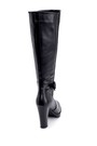 5638178548 Kadın Toka Detaylı Topuklu Çizme
