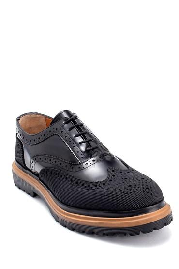 Siyah Erkek Süet Deri Ayakkabı 5638207939