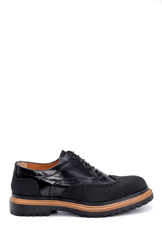 Siyah Erkek Süet Deri Ayakkabı 5638207941