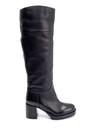 5638206294 Kadın Deri Topuklu Çizme