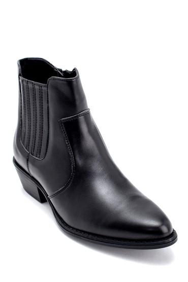 Siyah Kadın Topuklu Bot 5638209008