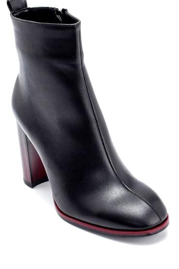 Siyah Kadın Topuklu Bot 5638209125