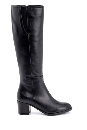 Siyah Kadın Topuklu Çizme 5638234776
