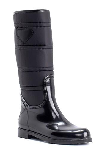 Siyah Kadın Yağmur Çizmesi 5638259409
