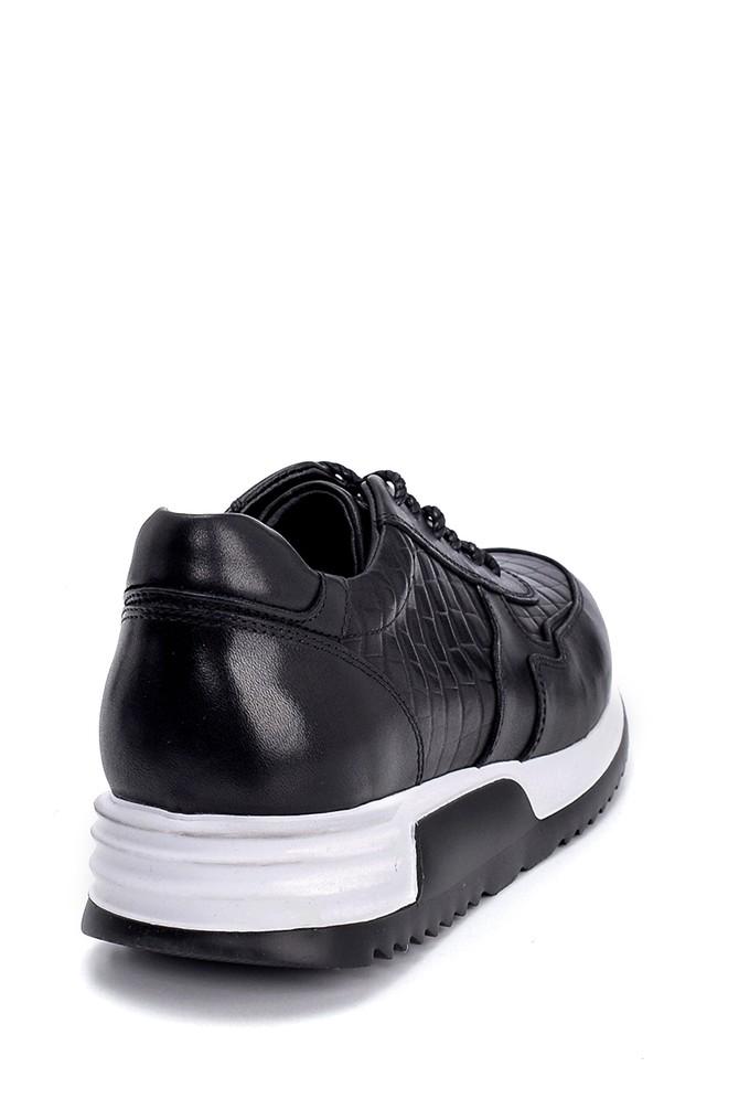 5638247887 Erkek Deri Sneaker