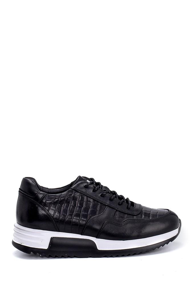 Siyah Erkek Deri Sneaker 5638247887