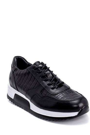 Siyah Erkek Deri Sneaker 5638247867