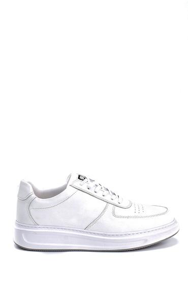 Beyaz Erkek Deri Sneaker 5638247962