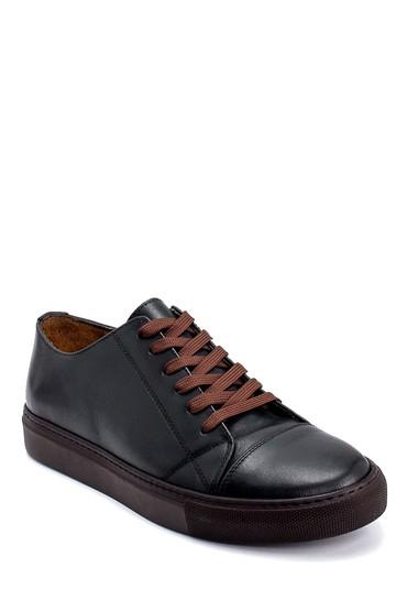 Yeşil Erkek Deri Sneaker 5638247980