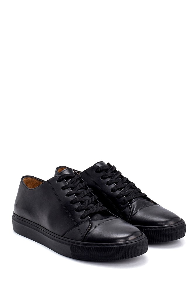 5638248012 Erkek Deri Sneaker