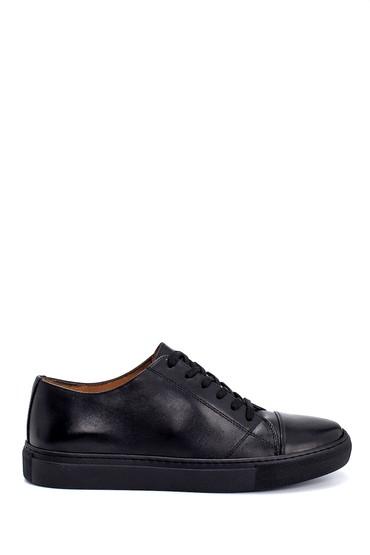 Siyah Erkek Deri Sneaker 5638247982