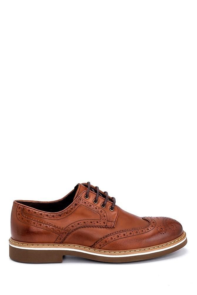 Kahverengi Erkek Deri Casual Ayakkabı 5638248026