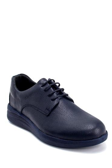 Lacivert Erkek Deri Sneaker 5638254776