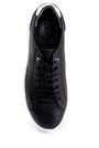 5638254811 Erkek Deri Baskılı Sneaker