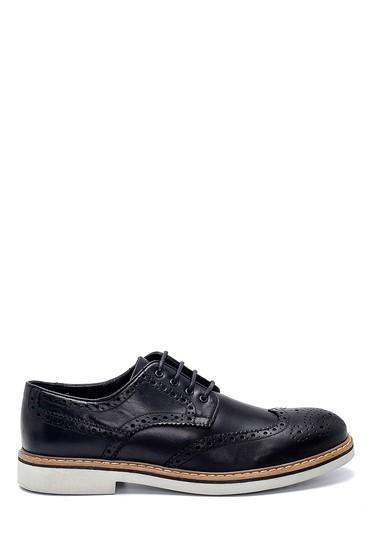 Siyah Erkek Deri Casual Ayakkabı 5638248027