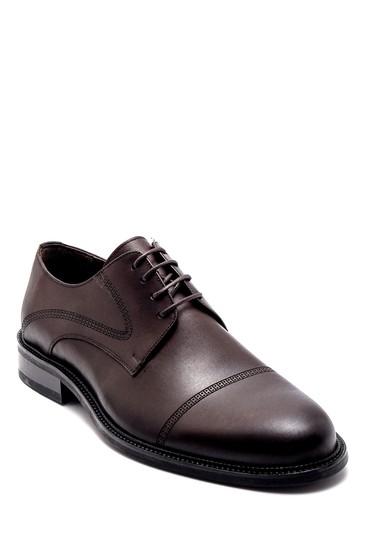 Kahverengi Erkek Deri Klasik Ayakkabı 5638247353