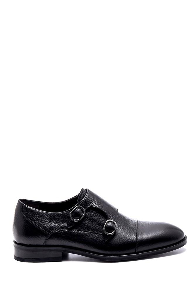 Siyah Erkek Deri Klasik Ayakkabı 5638247410