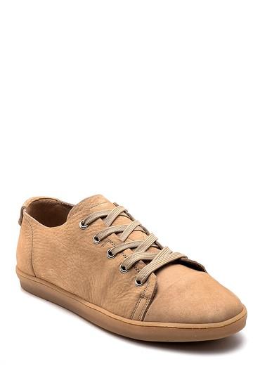 Bej Erkek Nubuk Sneaker 5638247612