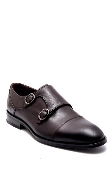 Kahverengi Erkek Deri Klasik Ayakkabı 5638252358