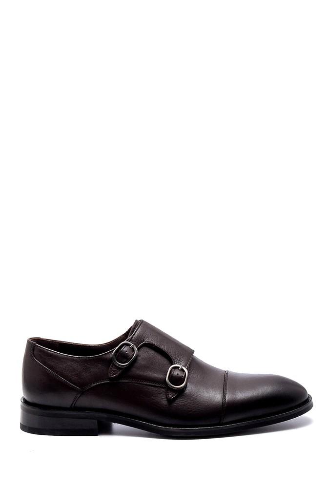 Kahverengi Erkek Deri Klasik Ayakkabı 5638252368