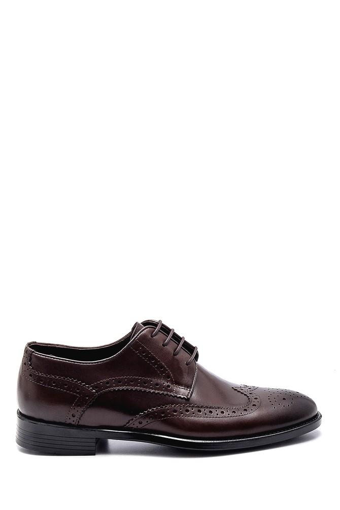 Kahverengi Erkek Deri Klasik Ayakkabı 5638254204
