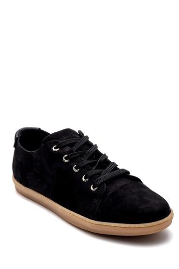 Siyah Erkek Nubuk Sneaker 5638255792