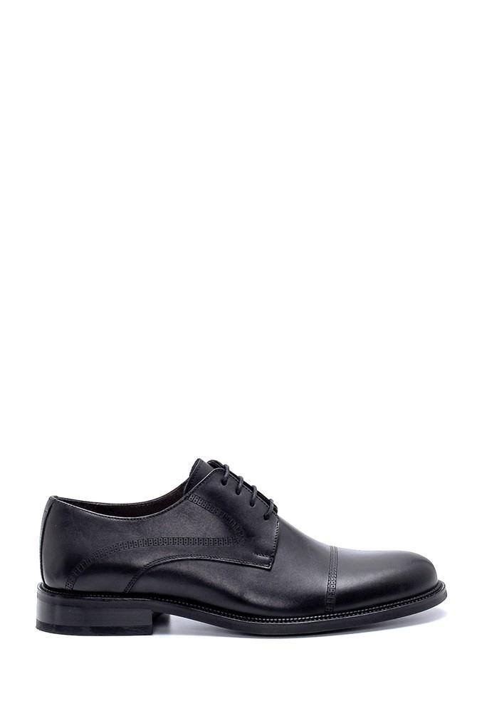 Siyah Erkek Deri Klasik Ayakkabı 5638247354