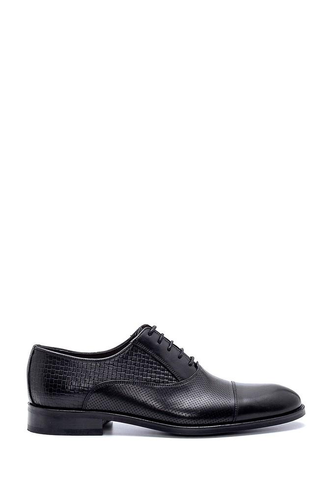 Siyah Erkek Deri Klasik Ayakkabı 5638247496