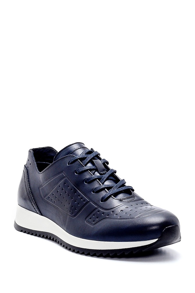 5638248134 Erkek Deri Sneaker